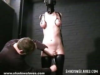 Slavegirl cherry torn hooded and bawdy cleft tortured in extraordinary