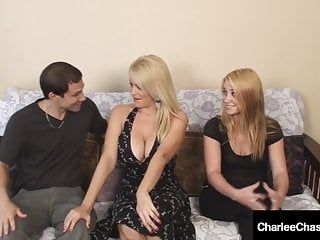 Milf charlee pursue tickles gals feet during the time that hubby bonks hotty