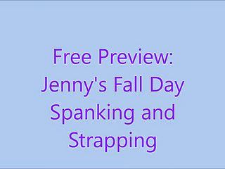 Free preview: jennys fall day flogging and thonging