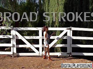 Xxx porn clip - broad strokes - aria alexander